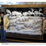 "Major works and Commissions-Allen & Patty with ""Prairie Edge Hunt"""