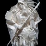 Elkhorn Warrior in the Wind
