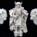 Hopi Buffalo Dancer-1/3 life-size