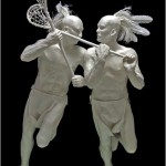 Lacrosse Brothers- 1/3 life-size