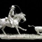 "Museum Works-""The Calf Roper"""