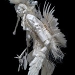 Traditional Dancer-Prairie Chicken Dance- Allen Eckman 1/4 Life-size
