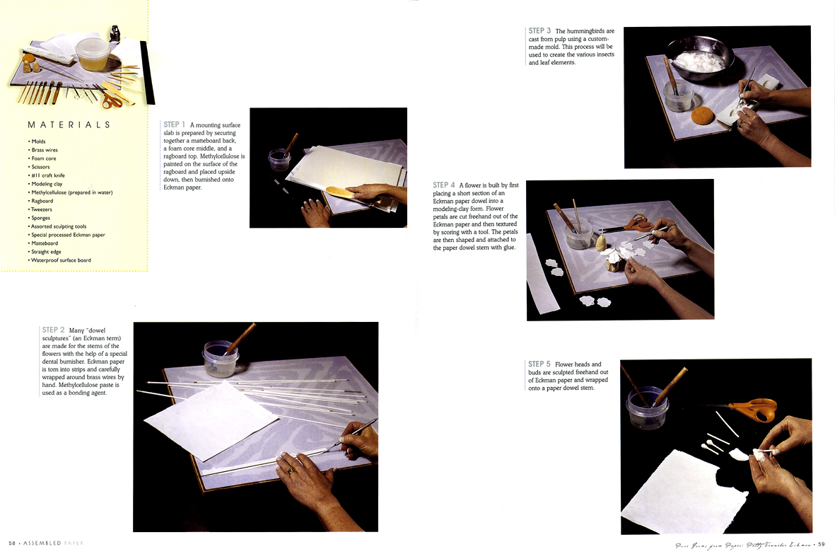 Learn Cast Paper Sculpture with the Eckman Method® | Eckman Fine Art