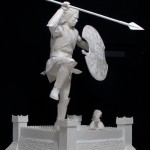 Brad Pitt- In the movie Troy is a commission for Ripliey's Entertainment, 1/2 Life-size