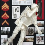 """Marking the LZ""-Allen Eckman Service Memorial, Private Commission, 1/3 Life-size"